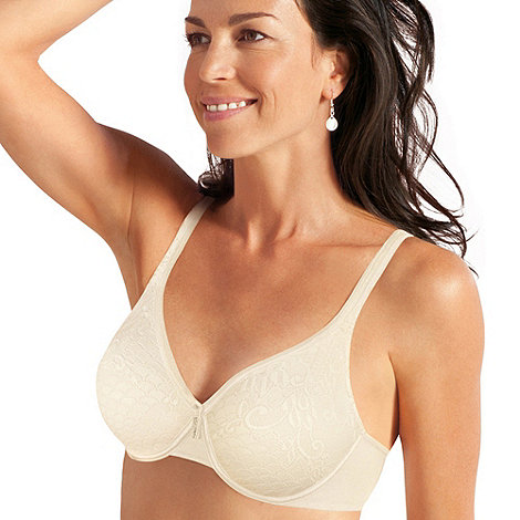 Playtex - Cream lace support t-shirt bra