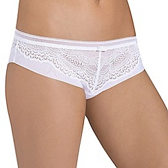 Triumph - White 'Beauty Full Darling' hipster brief