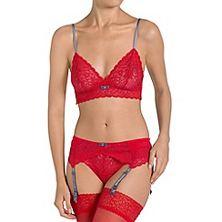 Triumph - Red 'Amourette Spotlight' triangle bra