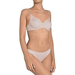 Triumph - Natural 'Body Make Up Essentials' underwired non-padded t-shirt bra