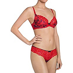 Triumph - Red 'Beauty Full Starlet' underwired bra