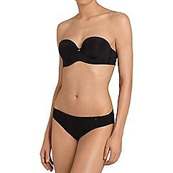 Triumph - Black 'Body Make Up Essentials' strapless bra