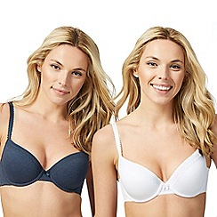 The Collection - Pack of two assorted padded t-shirt bras