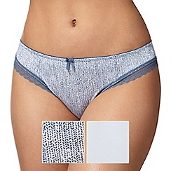 The Collection - 2 pack Brazilian knickers