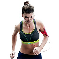 Shock Absorber - Black 'Ultimate' run sports bra