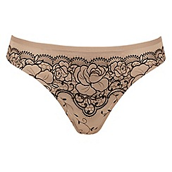 Triumph - Natural 'Jazz Spotlight' thong