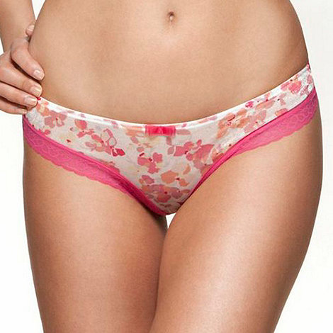 Gossard - Pink +Floral Frenzy+ thong