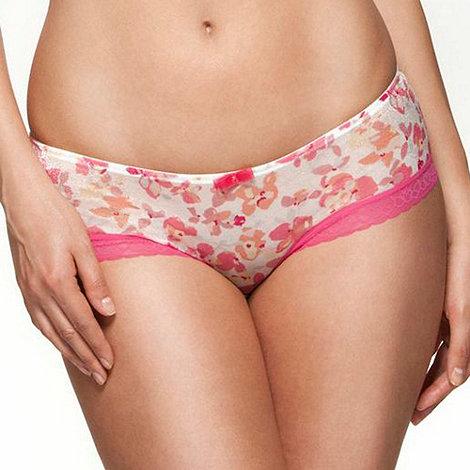 Gossard - Pink +Floral Frenzy+ shorts