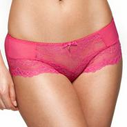 Pink 'Superboost' lace short