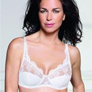 White 'Sophisticated Tulle' bra