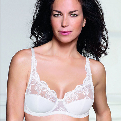 Playtex - White +Sophisticated Tulle+ bra