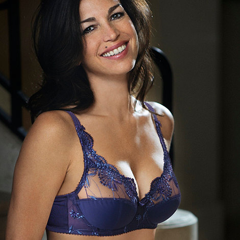 Playtex - Mid blue Sophisticated Tulle and Micro bra