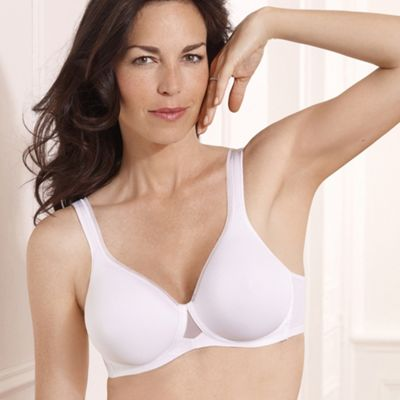 White Absolute Comfort bra