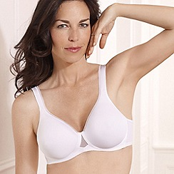 Playtex - White 'Absolute Comfort' bra