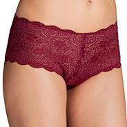 Dark red Amourette maxi briefs