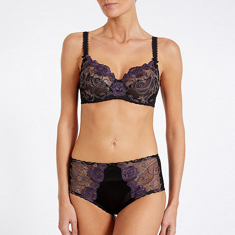 Triumph - Purple +Romantic Desire+ wired bra