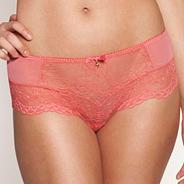 Rose 'Superboost' lace shorts