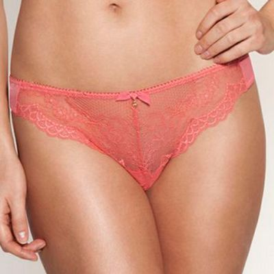 Rose Superboost lace thong