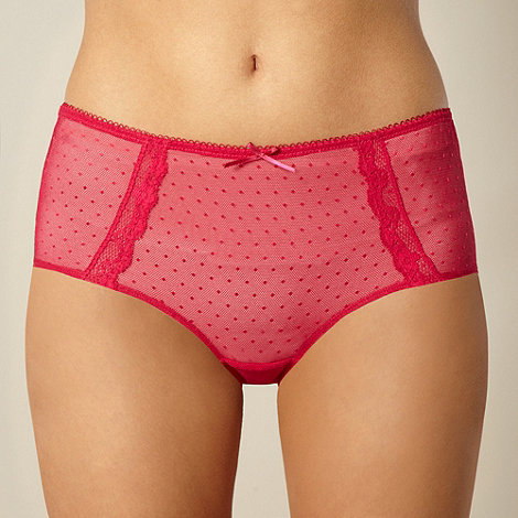 Debenhams - Red mesh shorts