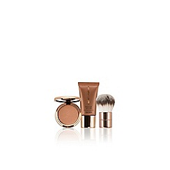 Nude by Nature - Limited edition 'Golden Paradise' bronzer Christmas gift set