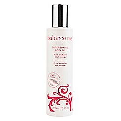Balance Me - Limited Edition Super Toning Body Oil