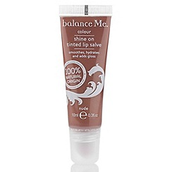balance me - Shine on tinted lip salve - nude 10ml