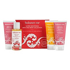 balance me - Super smoothing bath and body collection