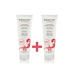 Balance Me - Cleanse and Smooth Face Balm Duo