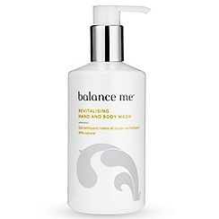 balance me - Revitalising Hand and Body Wash 300ml