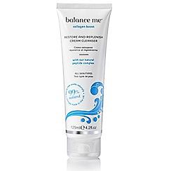 balance me - Restore and Replenish Cream Cleanser 125ml