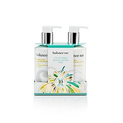 Balance Me - The Ultimate Wash & Lotion Duo Christmas Gift Set
