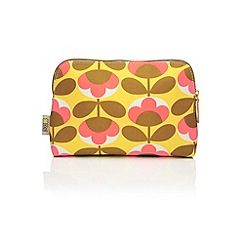 Orla Kiely - 'Oval Flower' cosmetic bag