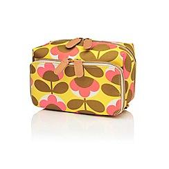 Orla Kiely - 'Oval Flower' medium wash bag