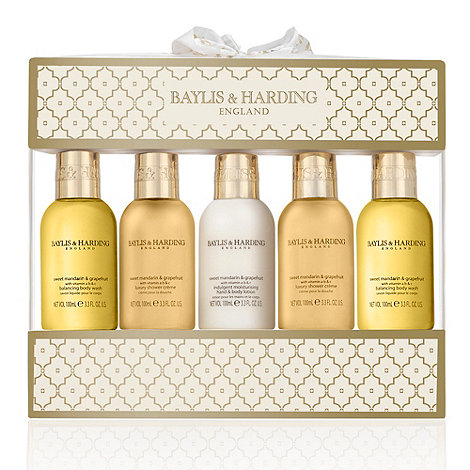 Baylis & Harding - Signature Collection - Sweet Mandarin & Grapefruit 5 Bottle Gift Set