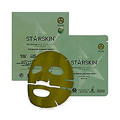 STARSKIN - 'The Master Cleanser Mask™' detoxing sea kelp leaf face mask 40g