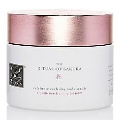 Rituals - 'The Ritual Of Sakura' body scrub 375g