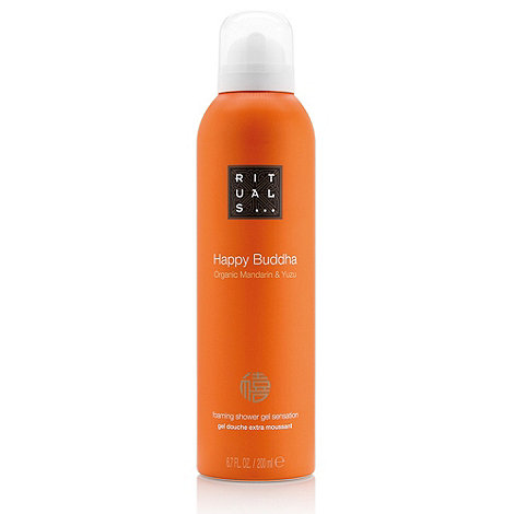 Rituals - Happy Buddha foaming shower gel 200ml