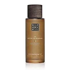 Rituals - 'The Ritual of Hammam' massage oil 100ml