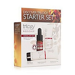 Trilogy - Rosehip discover starter gift set - for normal and dry skin