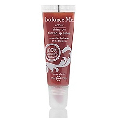 balance me - Shine on tinted lip salve - rose blush 10ml