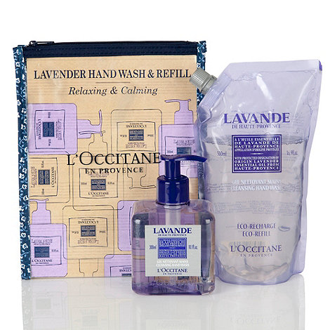 L+Occitane en Provence - Lavender Hand Wash and Refill