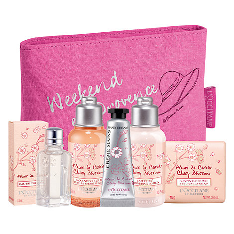 L+Occitane en Provence - +Cherry Blossom+ discovery gift set
