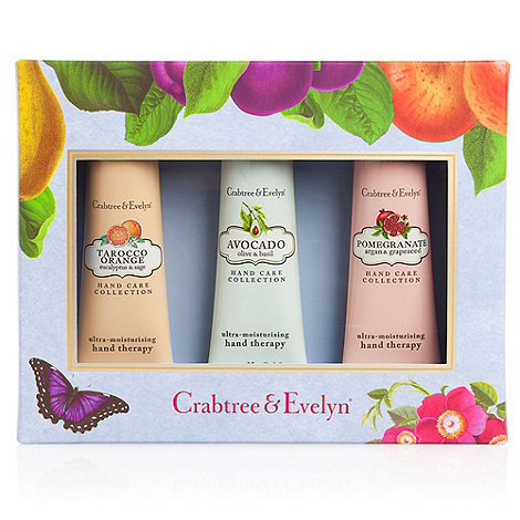 Crabtree & Evelyn - Botanical Hand Therapy Sampler Gift Set