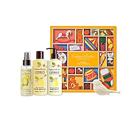 Crabtree & Evelyn - Citron, Honey & Coriander Body Care Trio Collection Christmas Gift Set