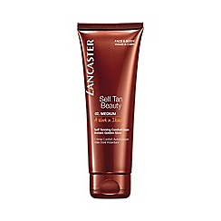 Lancaster - 'Self Tan Beauty' medium self tanning comfort face and body cream 125ml