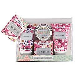 Heathcote & Ivory - Vintage Mini Handcare gift set