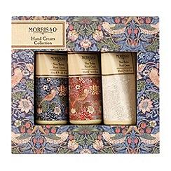 Heathcote & Ivory - 'Morris & Co. Strawberry Thief' hand cream collection of three Christmas gift set