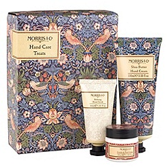 Heathcote & Ivory - 'Morris & Co. Strawberry Thief' hand care treats gift set