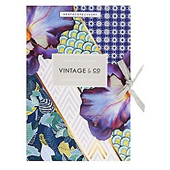 Heathcote & Ivory - 'Braids & Blooms' 6 scented drawer liners