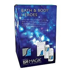 Dead Sea Magik - Bath and Body Heroes Christmas gift set